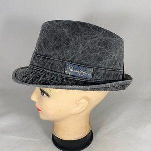 Panama Jack Distressed Fedora Hat NWT